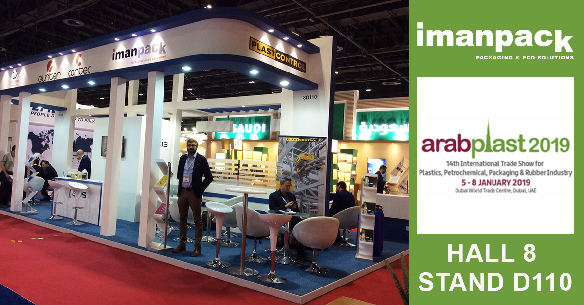 ArabPlast 2019 Dubai in progress