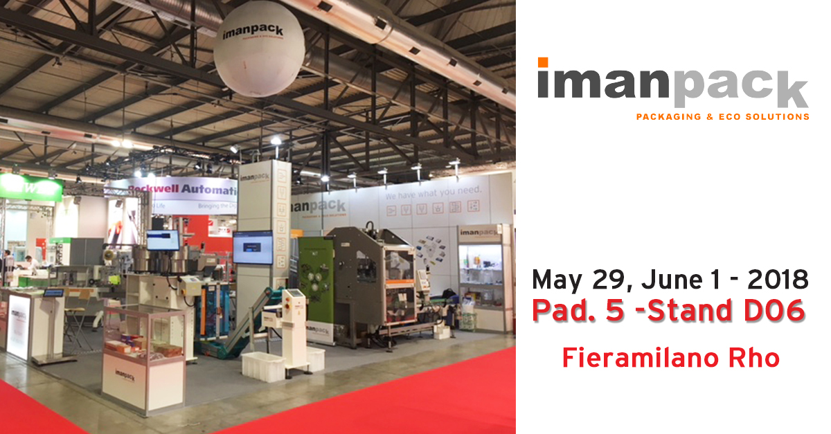 IPACK IMA international PACKAGING fair opens today