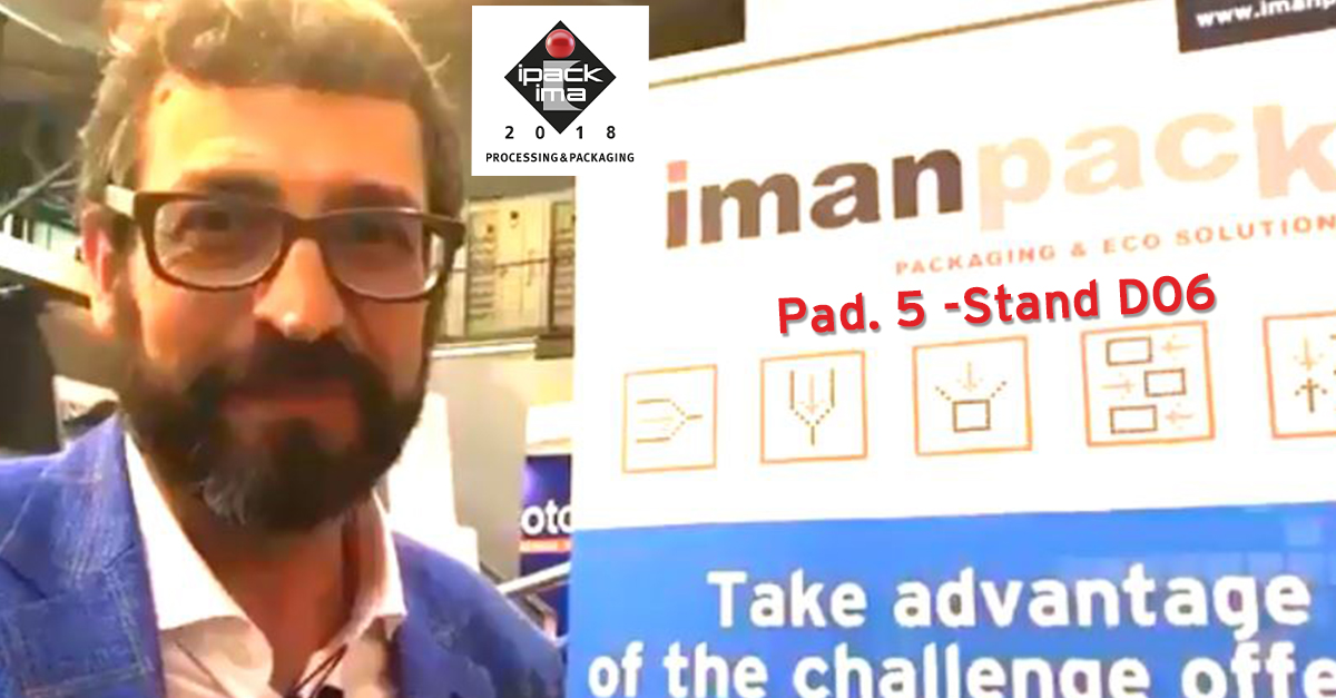 VIDEO INTERVIEW with Giovanni Bisio at Imanpack stand at IPACK IMA