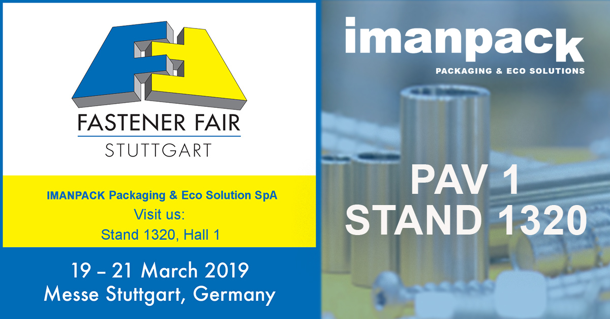 We will attend Fastener Fair Stuttgart 2019