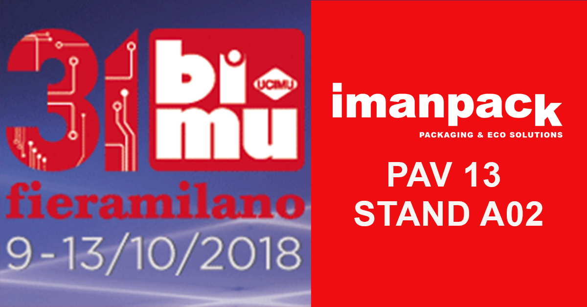 Imanpack will take part in BI-MU Milan