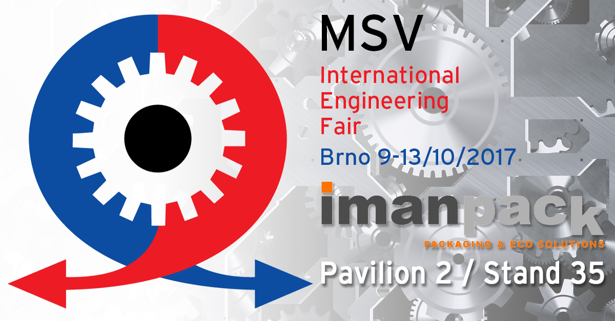 MSV - International Engineering Fair in Brno 9-13 October 2017