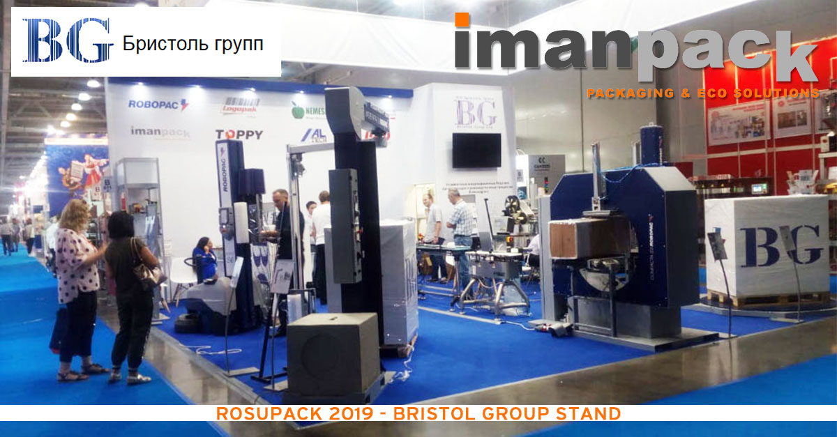 BRISTOL our local Agent in Russia at Rosupack 2019
