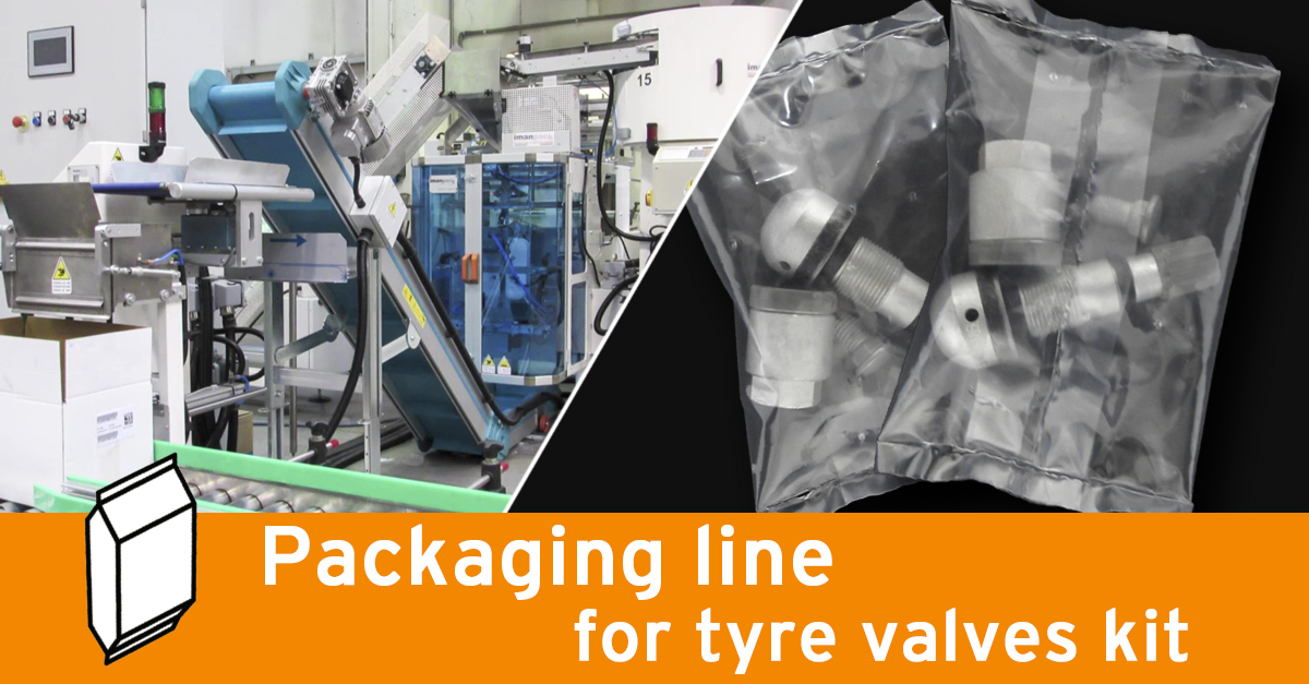 Video - Tyre valves packaging line