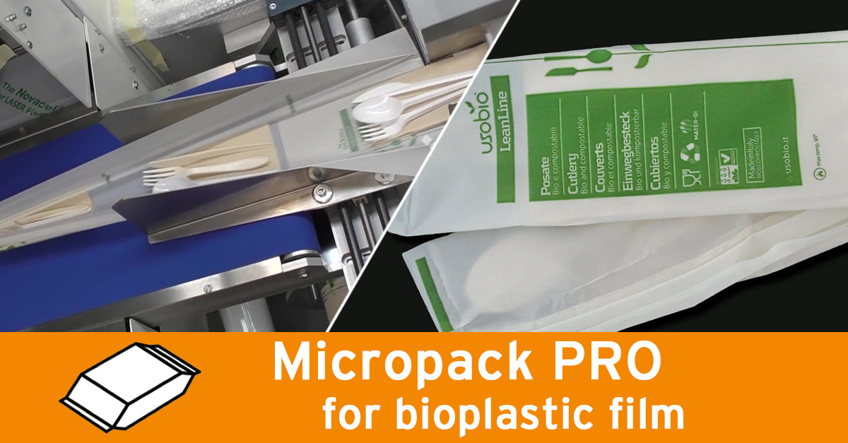 Video - Bioplastc cutlery packaging
