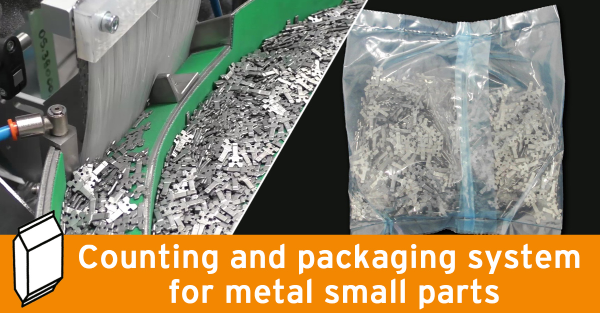 Video - Packaging for metal small parts
