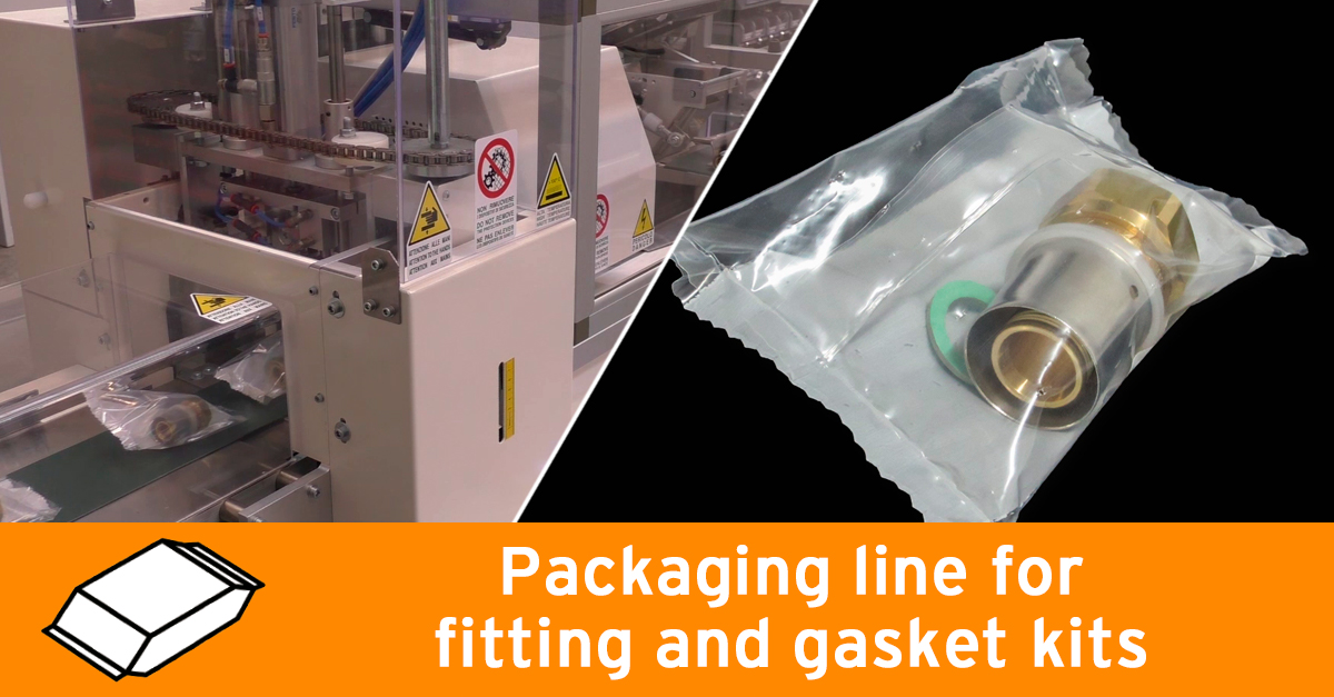 Video - Packaging line for fitting and gasket kits
