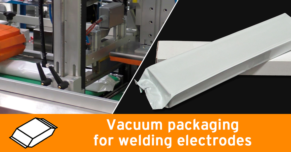 Video - Packaging for welding electrodes