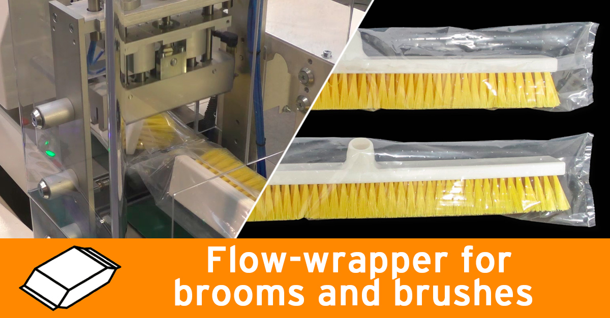 Video - Packaging for brooms and brushes