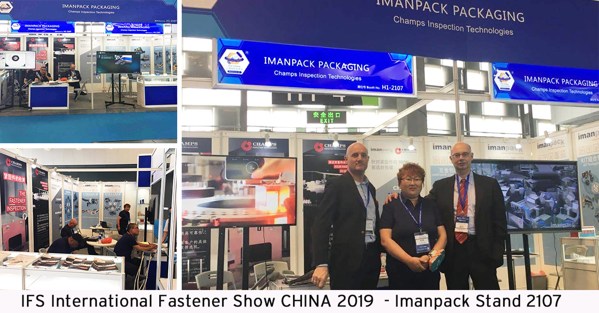 Together with Champs at IFS International Fastener CHINA 2019
