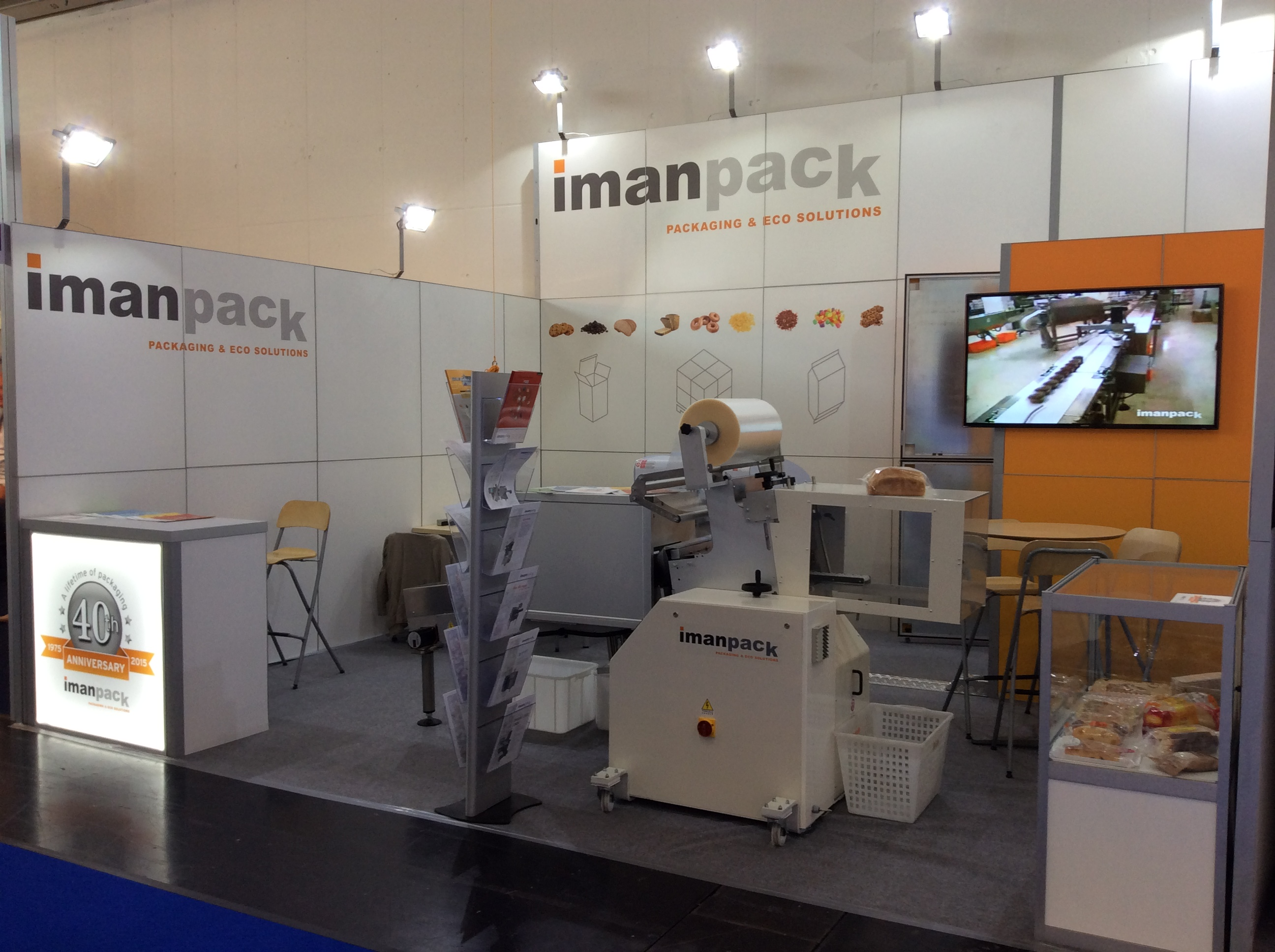 Until September 17th you may enjoy this exhibition about bakery, confectionary and snacks. Pav. A1 - Stand 429