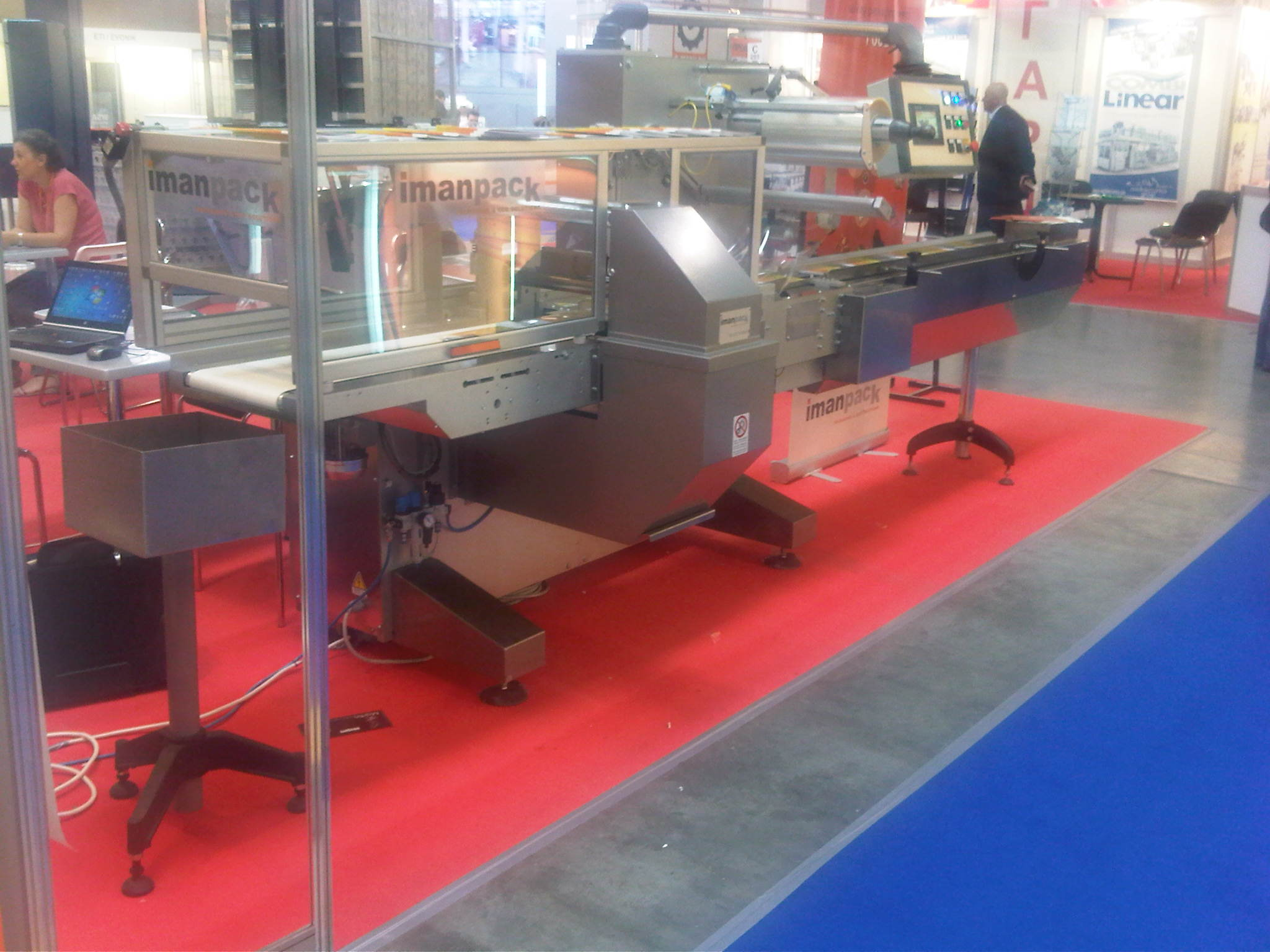 The most popular Russian exhibition for the Labels&packaging industry, called  RosUpack, has just finished in Moscow.