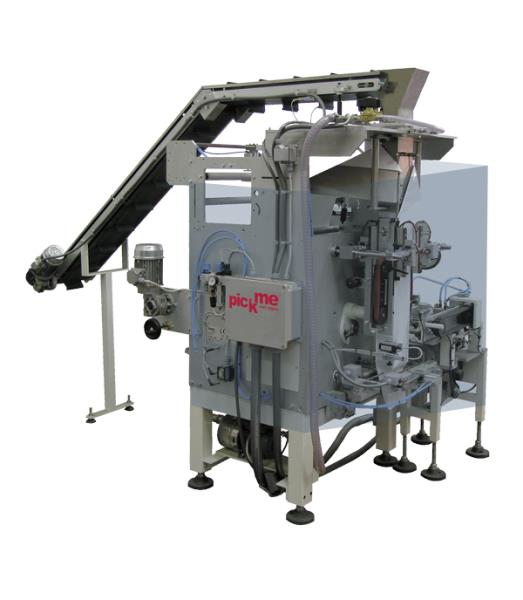 Vertical Form-Fill-Seal machine for wet wipes