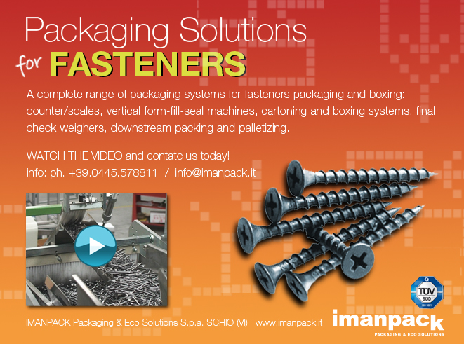 BANNER PACKAGING SCREWS