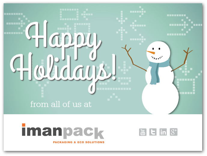 Imanpack will guarantee remote technical support and urgent spare parts supply during the holiday season.