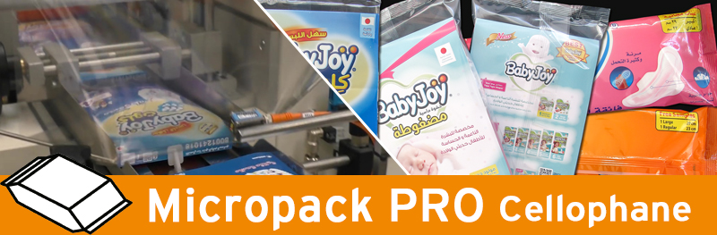 Video - Micropack PRO for diapers