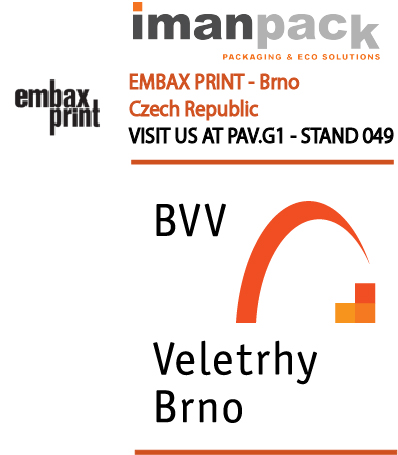 Imanpack will participate from 17 to 19 of February at EmbaxPrint fair in Brno, Czech Republic