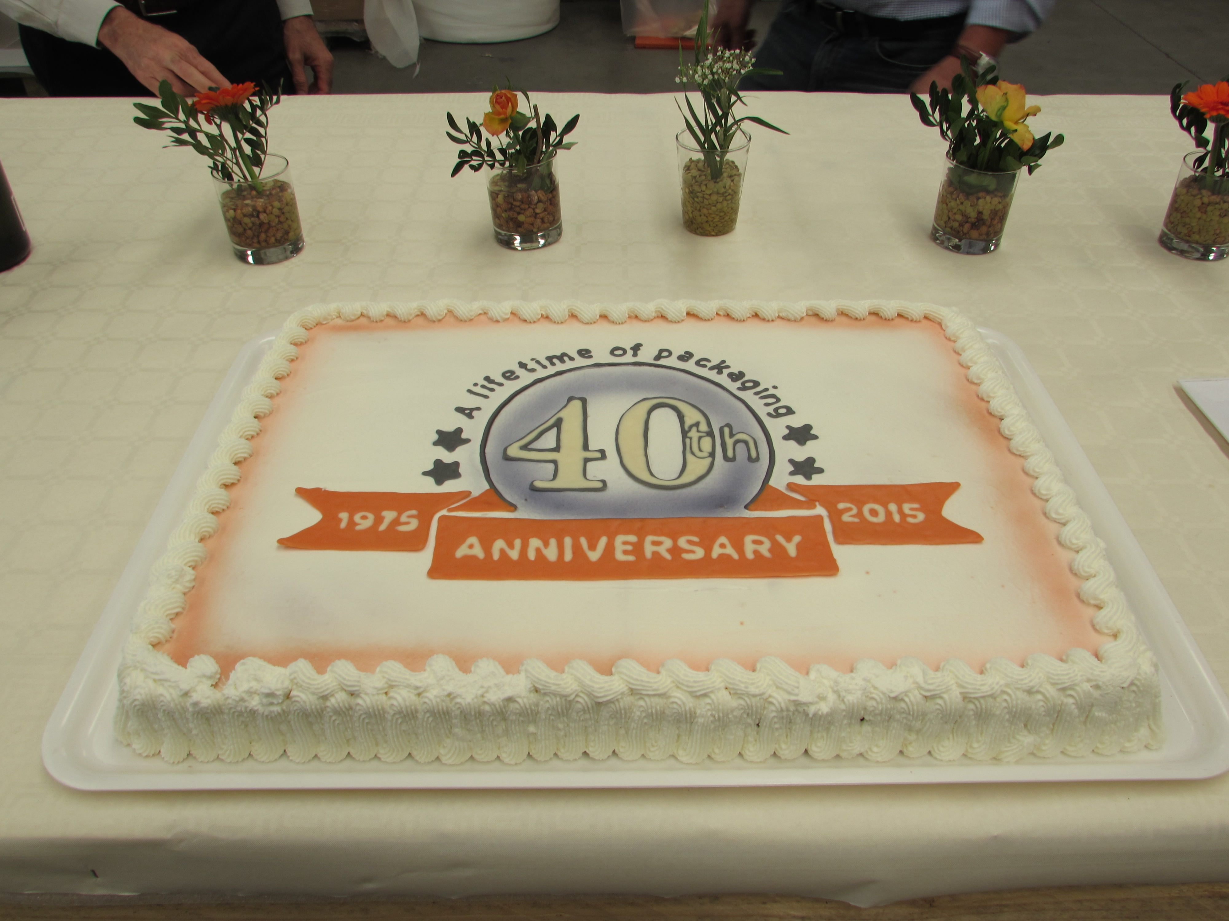 Top Management celebrated 40 years of activity, together with all employees